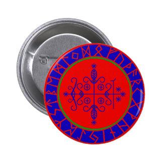 VooDoo Magik - Papa Legba 6 Cm Round Badge