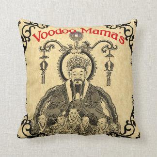 Voodoo Mama's Chinese Wash Art Pillow