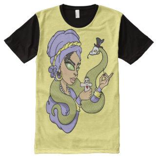 Voodoo Queen Graphic Tee All-Over Print T-Shirt