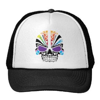 Voodoo Rainbow Skull Trucker Hat