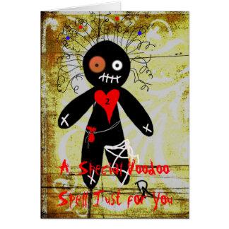 Voodoo Spell Card