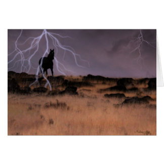 Voodoo Storm Greeting Card