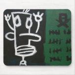 Voodoo: Urban Alien Graffiti Art Mouse Pad