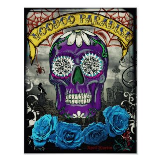 voodoo's paradise_3_large poster