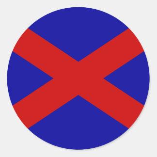 Voortrekker, Somalia Classic Round Sticker