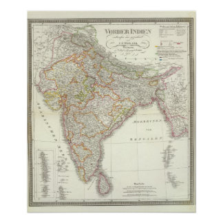 Vorder Indien South Asia Poster