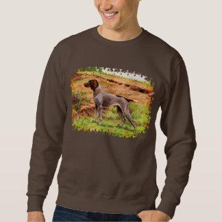 Vorstehund, hunting dog pull over sweatshirts
