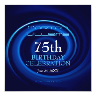 Vortex 75th Birthday Celebration Invitation