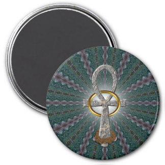 Vortex 7.5 Cm Round Magnet