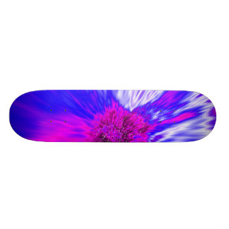 Vortex Abstract Digital Fractal Skate Board Deck