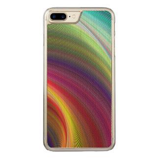 Vortex of colors carved iPhone 8 plus/7 plus case