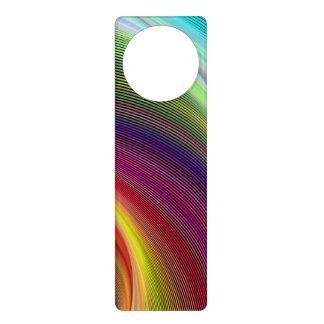 Vortex of Colors Door Knob Hanger