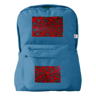 vortex of colours  on American Apparel Backpack