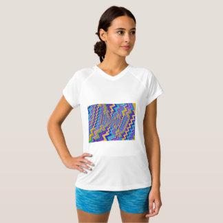 vortex on Champion Double-Dry V-Neck T-Shirt