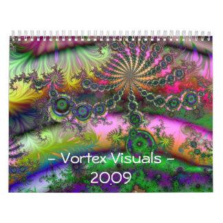 Vortex Visuals -2009 Calendar