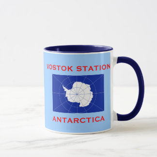 Vostok Russian Research Station Antarctica Mug