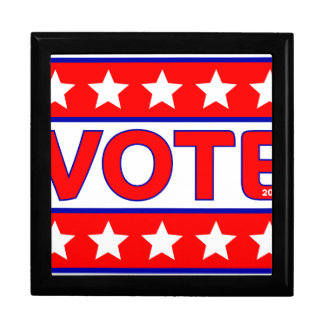 vote 2016 large square gift box