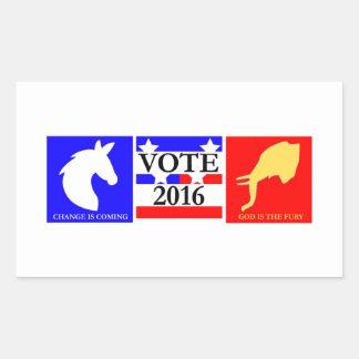 Vote 2016 Sticker