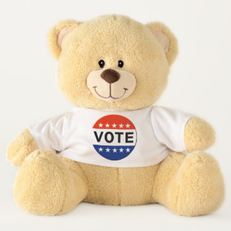 Vote 2018 Midterm Elections Teddy Bear