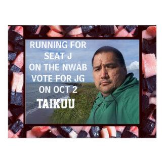 VOTE 4 JG POST CARDS