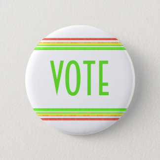Vote 6 Cm Round Badge