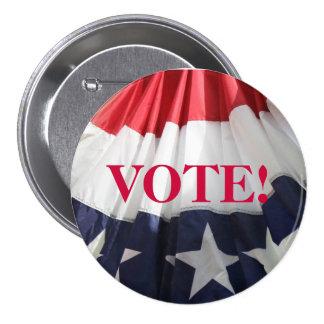 VOTE! 7.5 CM ROUND BADGE
