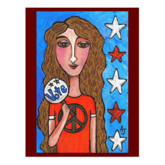 VOTE - american postcard