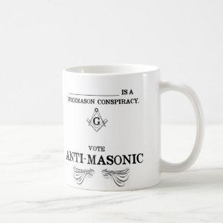 Vote Anti-Masonic Coffee Mug