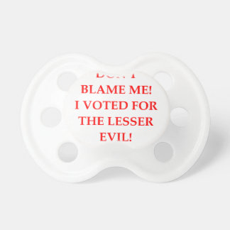 VOTE BABY PACIFIER