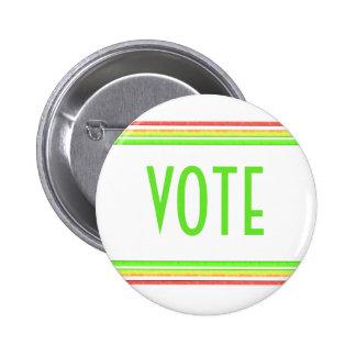 Vote 6 Cm Round Badge