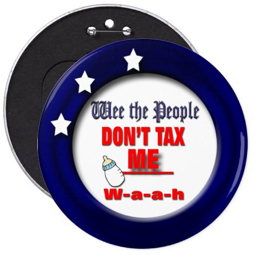 Vote Pinback Buttons