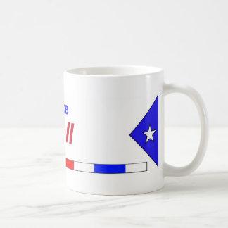 Vote Bell Basic White Mug