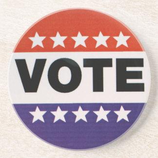 Vote! Beverage Coaster