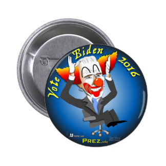 Vote Biden 2016 6 Cm Round Badge