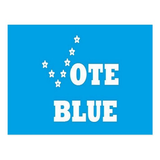 Vote Blue - Post Card