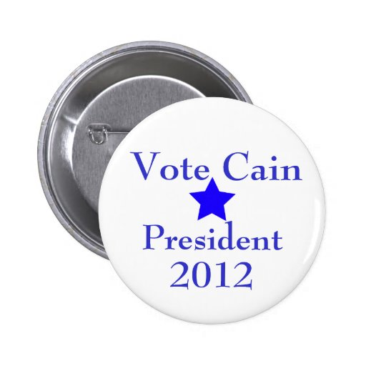 Vote Cain Pin