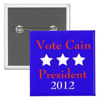 Vote Cain Pinback Button