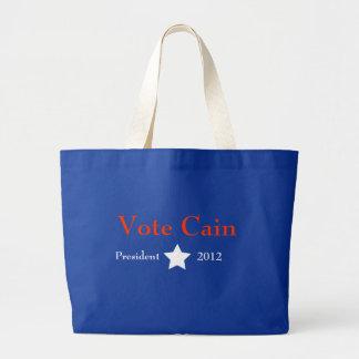Vote Cain Jumbo Tote Bag
