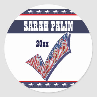 Vote candidate President 20xx CUSTOMIZE Stickers