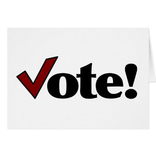 Vote! Greeting Cards