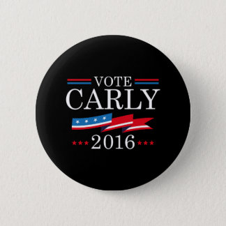 Vote Carly 2016 6 Cm Round Badge