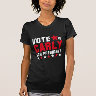 Vote Carly Fiorina Tshirts