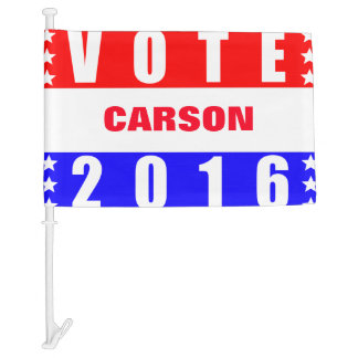 Vote Carson 2016 Presidential Election Car Flag