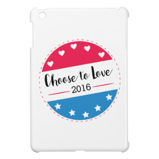 Vote Choose to Love iPad Mini Case