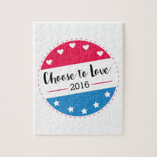 Vote Choose to Love Jigsaw Puzzle