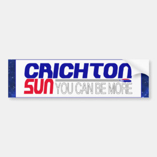 Vote Crichton Sun Bumper Sticker