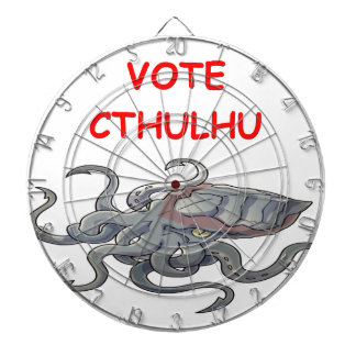 vote cthulhu dart boards