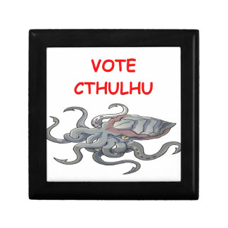 vote cthulhu jewelry boxes