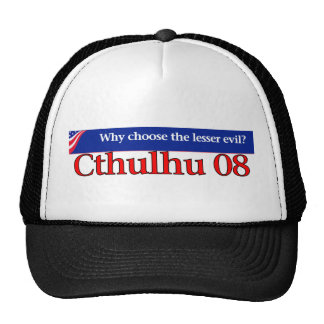 Vote Cthulhu in 2008 Cap