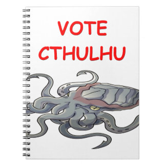 vote cthulhu spiral notebooks